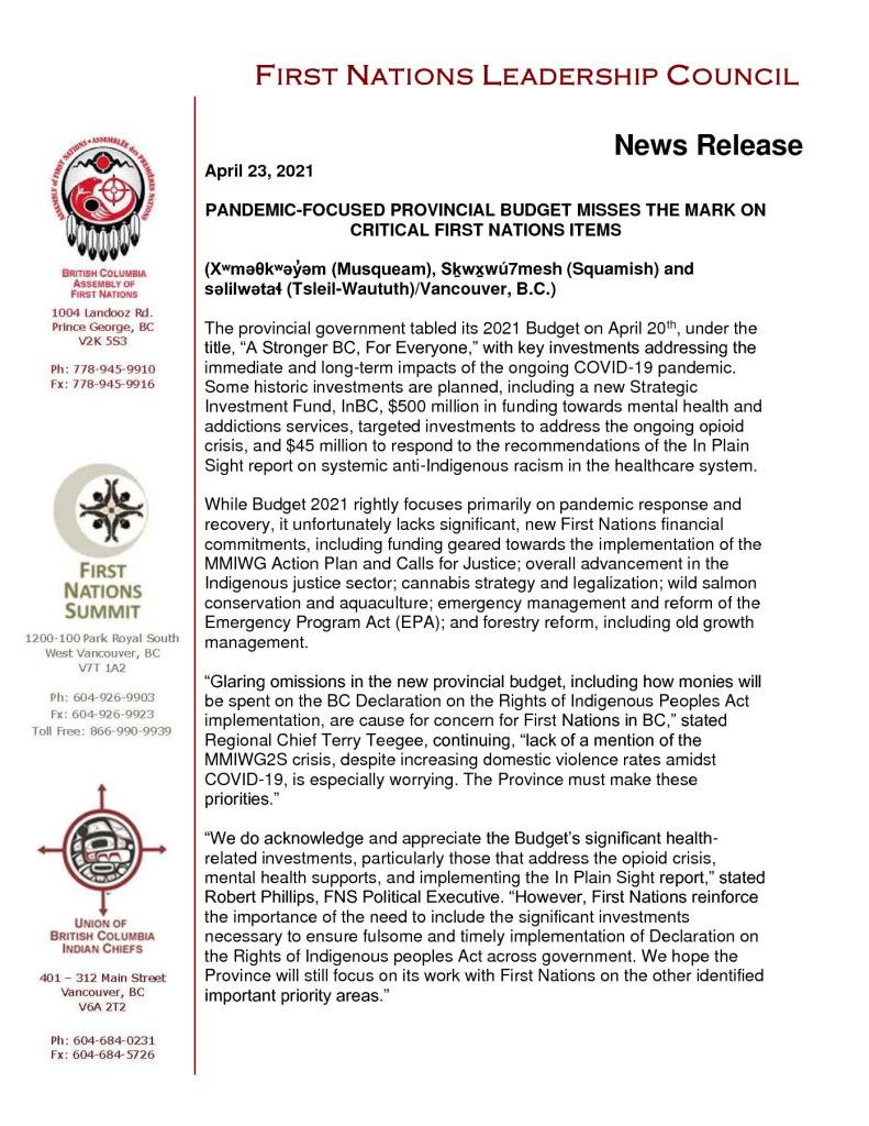 thumbnail of 2021_04_23 PR on BC Budget FNLC_final
