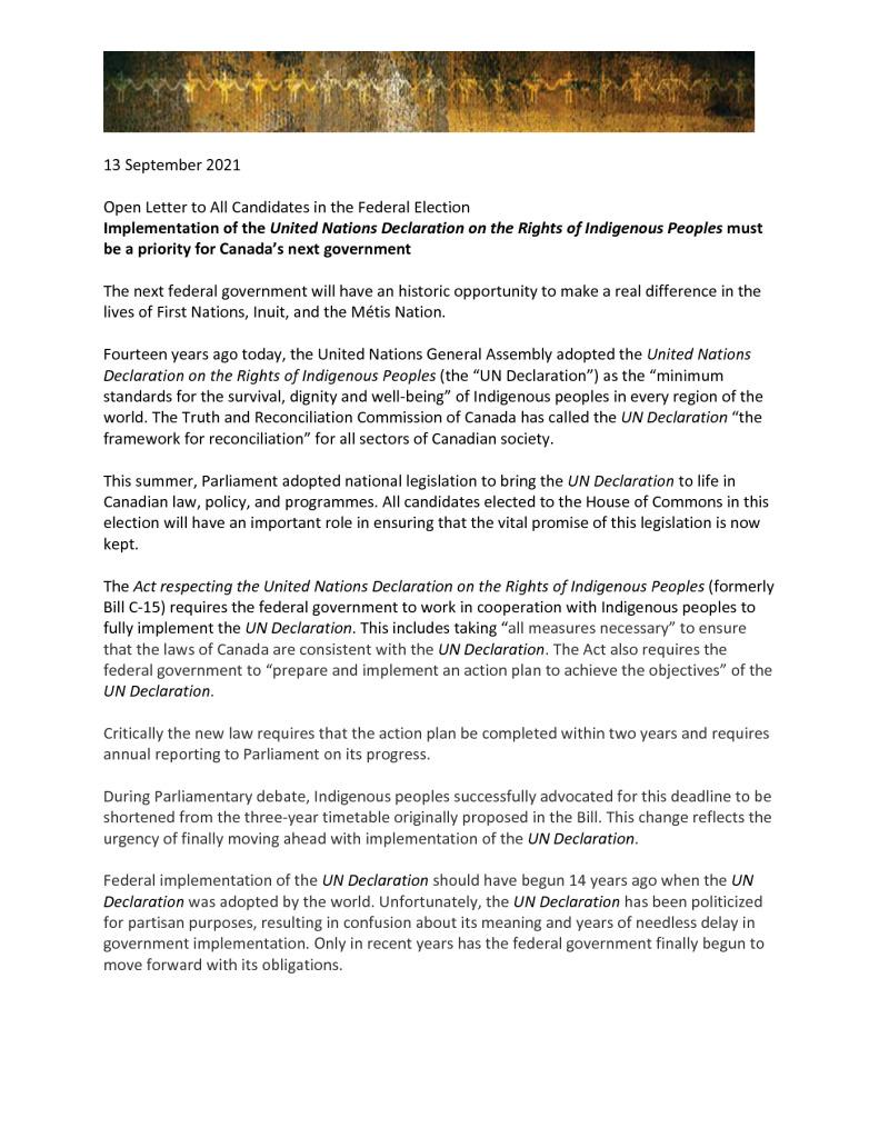 thumbnail of 09-13-21 Coalition Open Letter re UNRIP impl – final