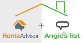 Home Advisor and Angie's List Approved