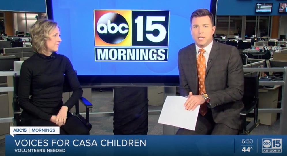 Voices for CASA Children on ABC15