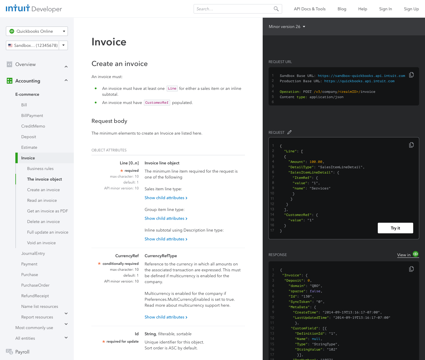 New design of API explorer and API reference combined