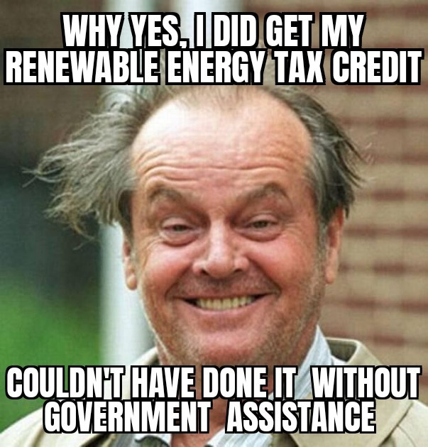 why yes I did get my tax credit - energy news beat