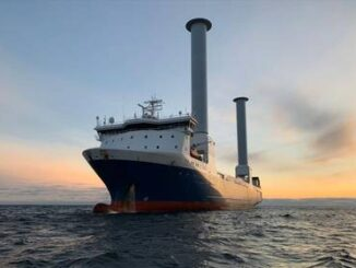 World's First Tiltable Rotor Sails Installed - Energy News Beat