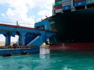 Still Stuck - Source - Suez Canal Authority -energynewsbeat