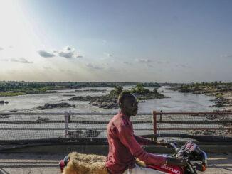 The Blue Nile River in Sudan