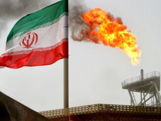Iran - oil and flag - ENB