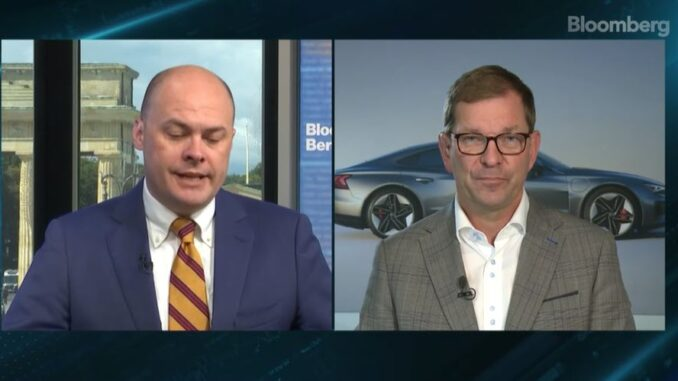 bloomberg - Audi CEO Markus Duesmann - ENB