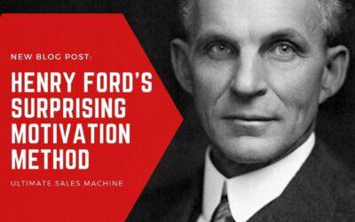 Henry Ford's surprising motivation method