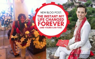 The instant my life changed forever (and yours can too)