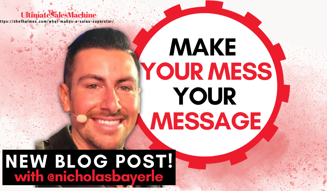Make your mess your message w/ Nicholas Bayerle