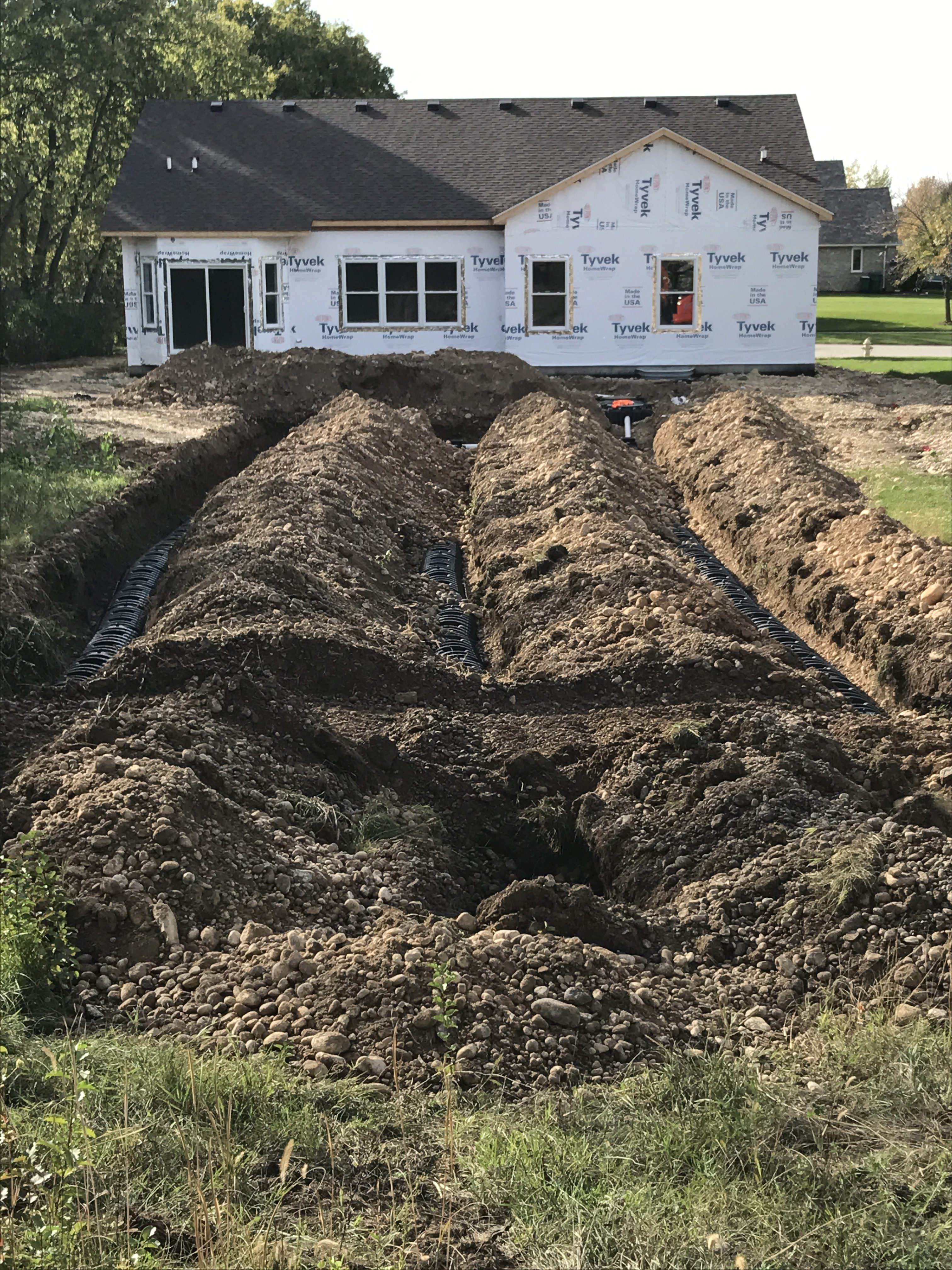 Excavation Septic