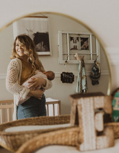 In Home Newborn Photography by McKenzie Shea