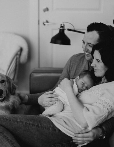 In Home Newborn Family Photography by McKenzie Shea