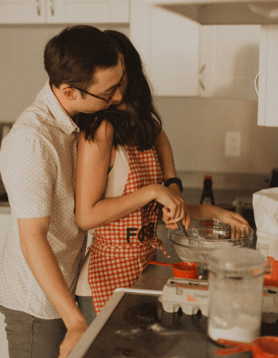 Levi and Marisa's In Home Anniversary Photoshoot by McKenzie Shea