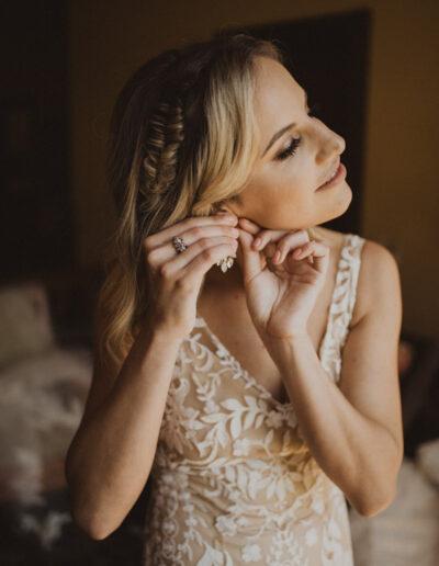 Bride's Getting Ready Shots by McKenzie Shea