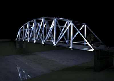 White River Pedestrian Bridge
