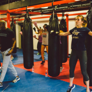 group boxing classes dc
