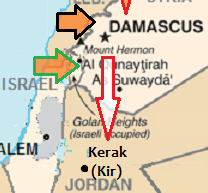 Damascus refugees will soon flee to Kerak, Jordan!
