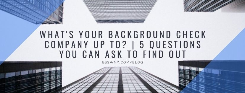 What's Your Background Check Company Up To? 5 Questions to Ask