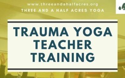 West Coast Trauma Yoga Teacher Training 2020