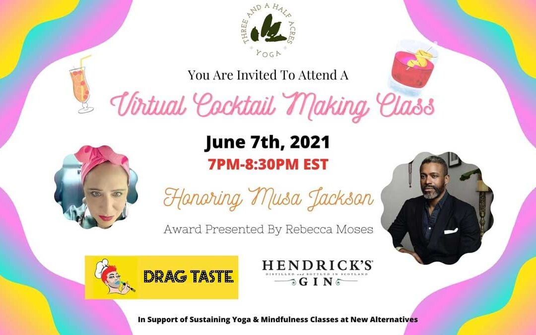 Virtual Cocktail Making Class