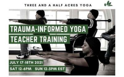 Become a Trauma Informed Yoga Teacher