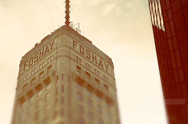 Foshay tower in the Twin Cities