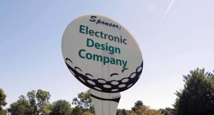 Electronic Design Company golf outing