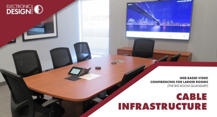 Web Based Video Conferencing for Larger Rooms: Cable Infrastructure