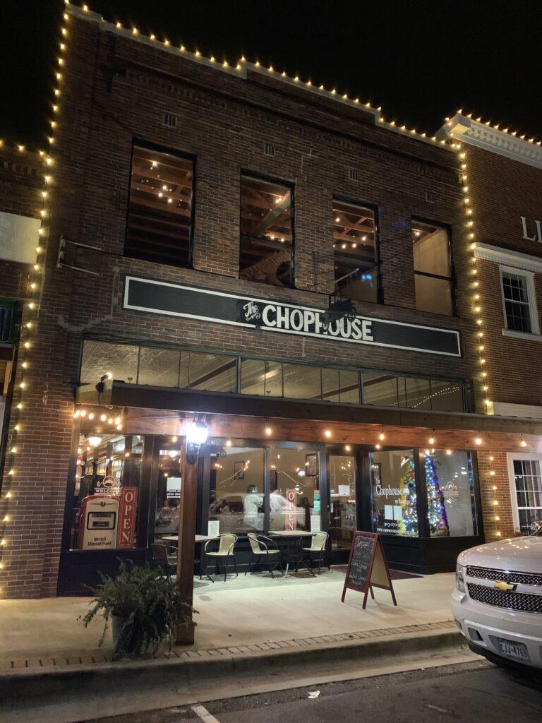 Chophouse, steakhouse, Mount Vernon, Texas, Bankhead, Neat Bar