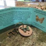 2017 Elmwood butterfly keychains