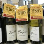Save the Bees, wine!