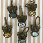 2019 butterfly keycahins