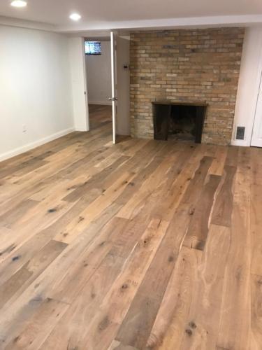 Pre-finished Hardwood Installation