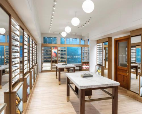 Warby Parker, Retail Store - Newbury St, Boston