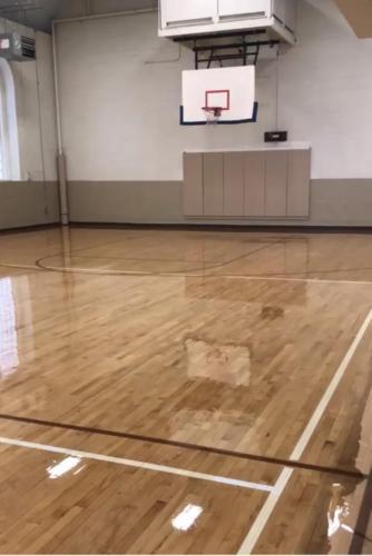 Basketball Court Refinishing - Framingham, MA