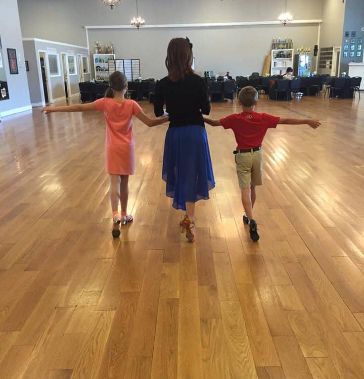 Ballroom dance for kids