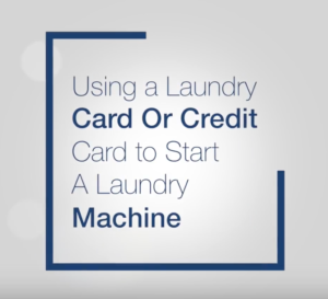 Using aLaundry Card or Credit Card
