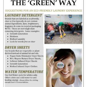 Eco Friendly Laundry Tips