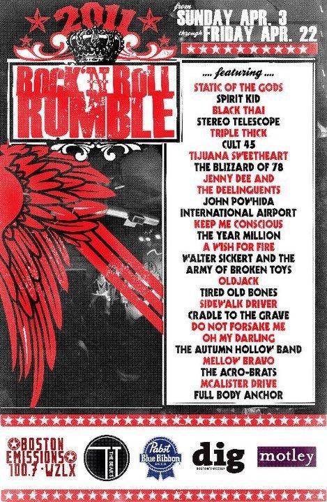 2011 Rumble   Tyler Littwin, designer