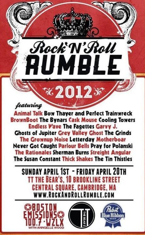 2012 Rumble   Tyler Littwin, designer