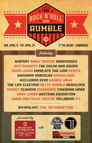 RUMBLE 2014