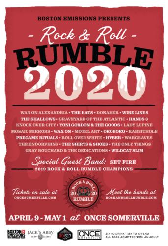RUMBLE 2020 APRIL