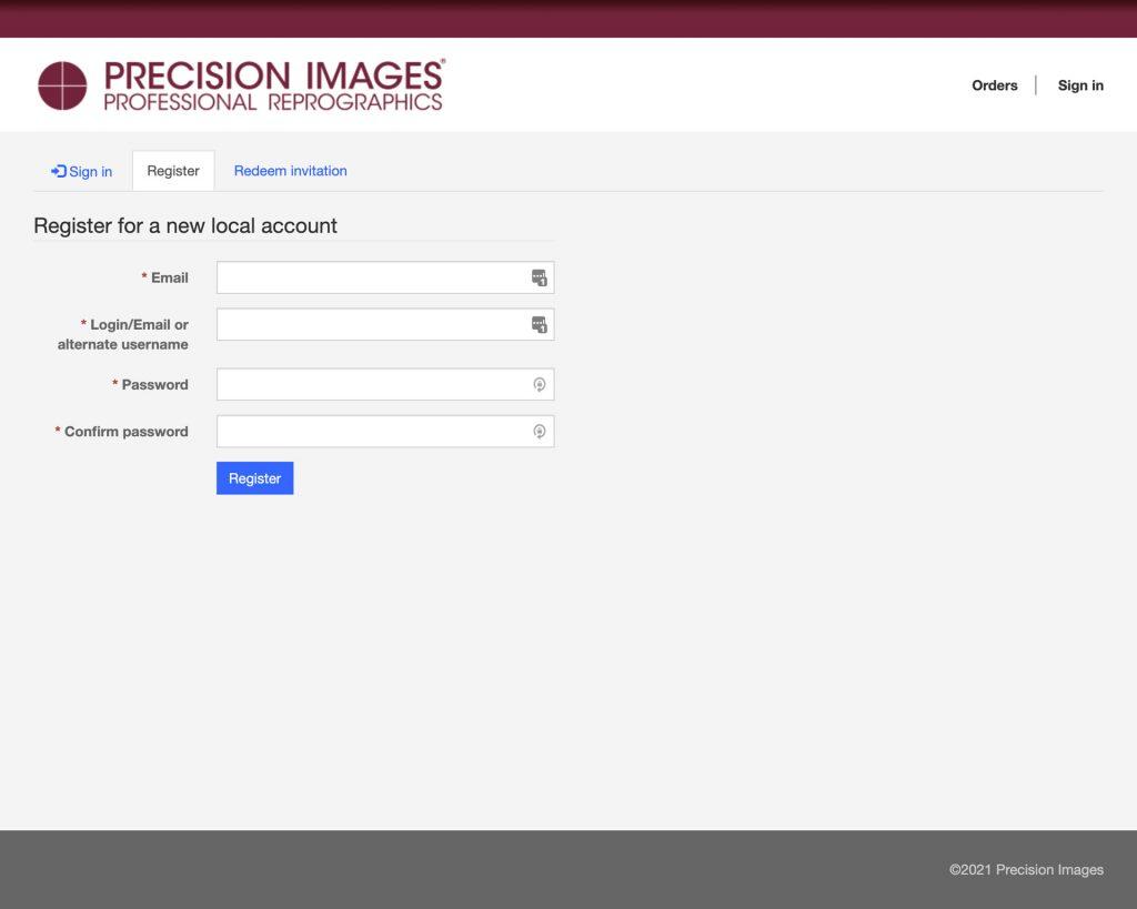 PI process register