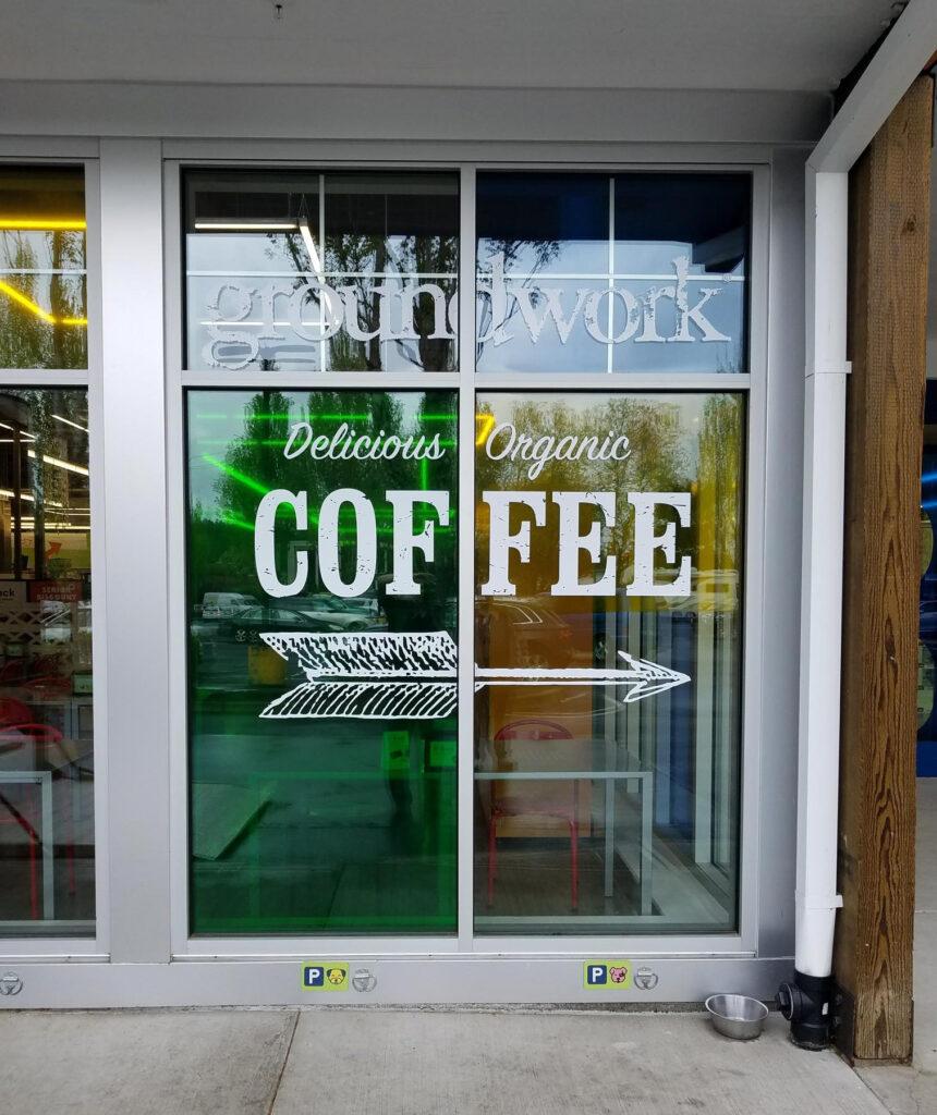 Cut Vinyl Groundwork Coffee