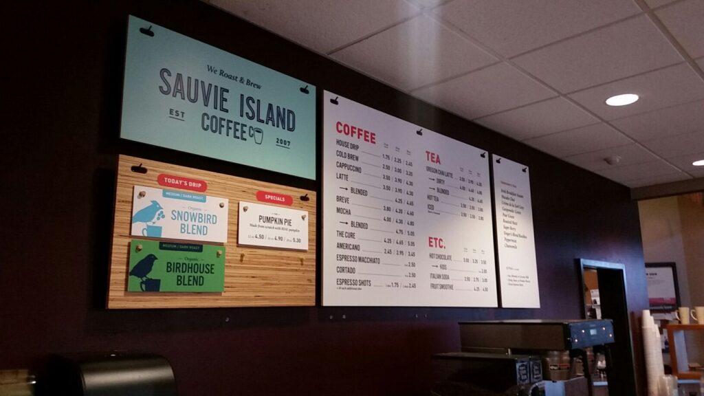 Printed Wood Sauvie Island Coffee