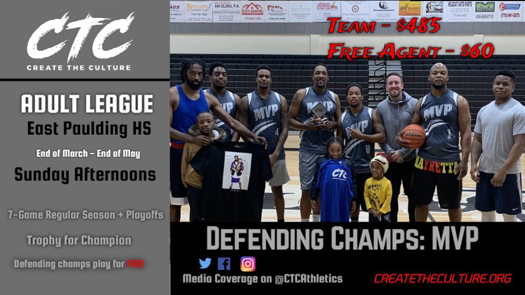 CTC Adult League Season 2