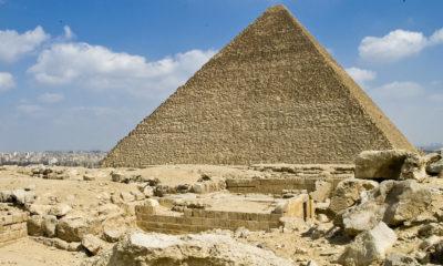 Descubren cámara secreta en la pirámide de Keops