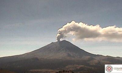 Popocatépetl se encuentra en Fase Amarillo 2