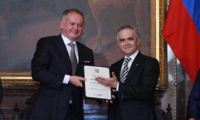 Andrej Kiska, presidente de Eslovenia